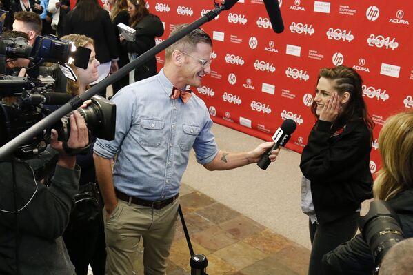 Kristen Stewart w 2014 roku - Sputnik Polska