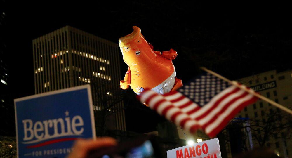 Demonstracja zwolenników impeachmentu Trumpa