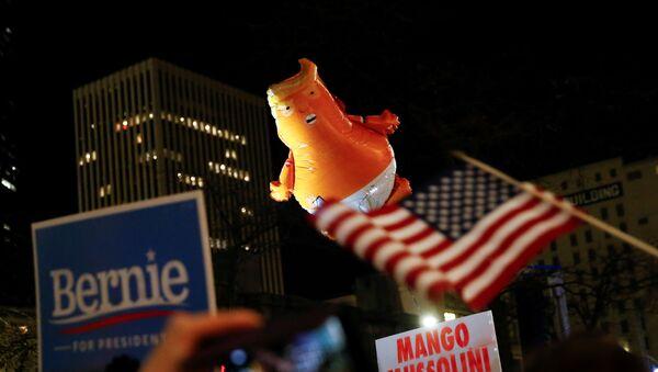 Demonstracja zwolenników impeachmentu Trumpa - Sputnik Polska