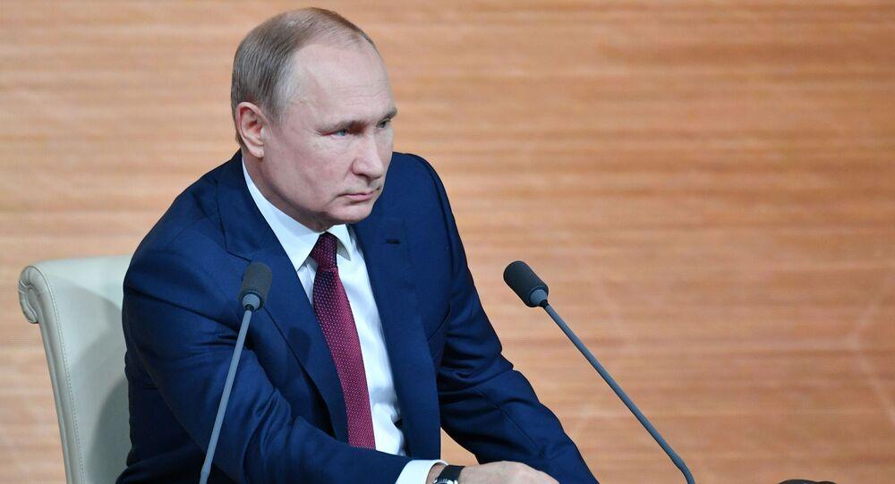 Coroczna konferencja prasowa Władimira Putina