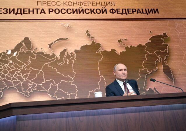 Coroczna konferencja prasowa Władimira Putina, 19 grudnia 2019