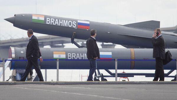 Rosyjsko-indyjska rakieta naddźwiękowa BrahMos - Sputnik Polska