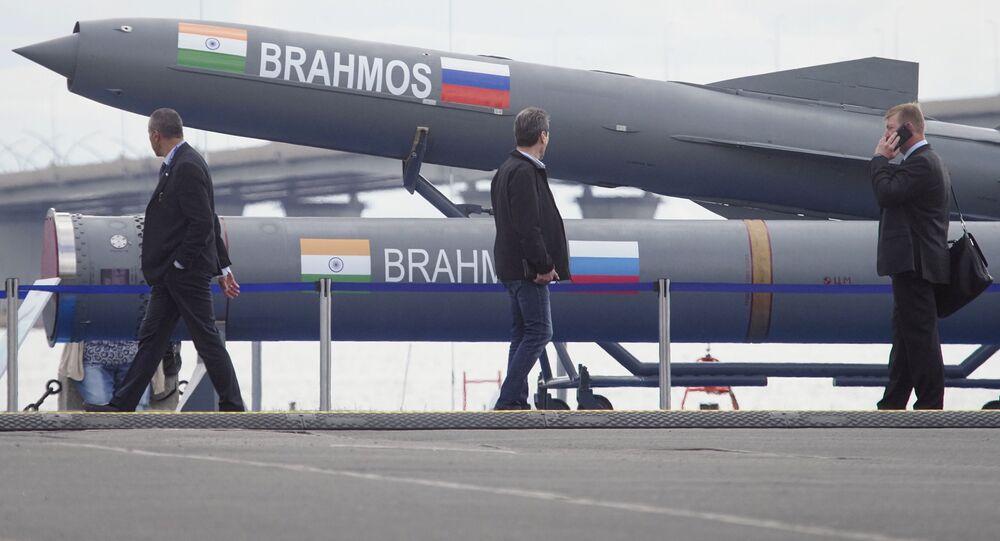 Rosyjsko-indyjska rakieta naddźwiękowa BrahMos