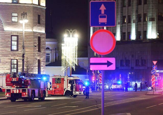 Strzelanina przed siedzibą FSB.