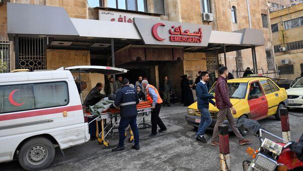 Ranni w rezultacie ataku terrorystów na dzielnice Aleppo  - Sputnik Polska