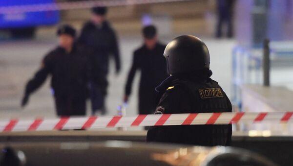 Strzelanina w centrum Moskwy - Sputnik Polska