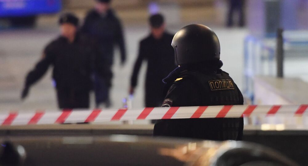 Strzelanina w centrum Moskwy.