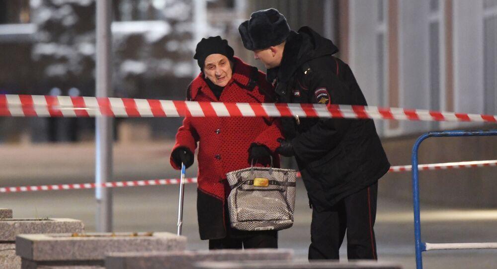 Strzelanina przy siedzibie FSB w Moskwie.