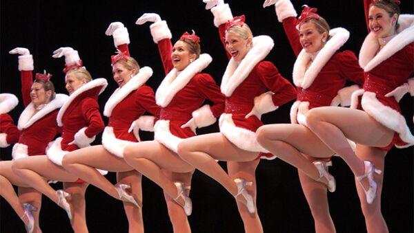 Występ zespołu tanecznego The Rockettes - Sputnik Polska