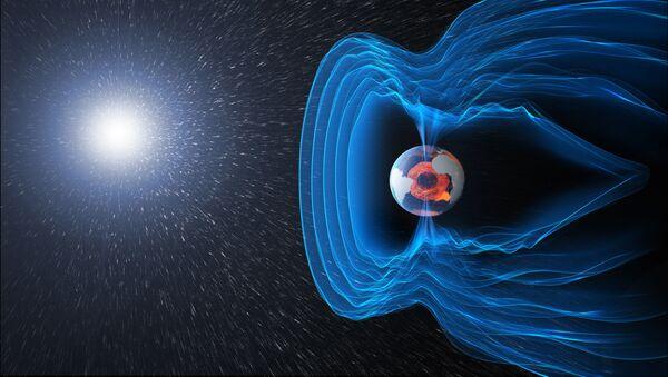 Pole magnetyczne Ziemi - Sputnik Polska