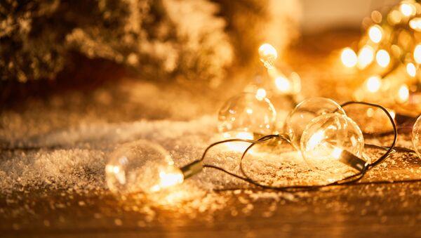 Świąteczne lampki - Sputnik Polska