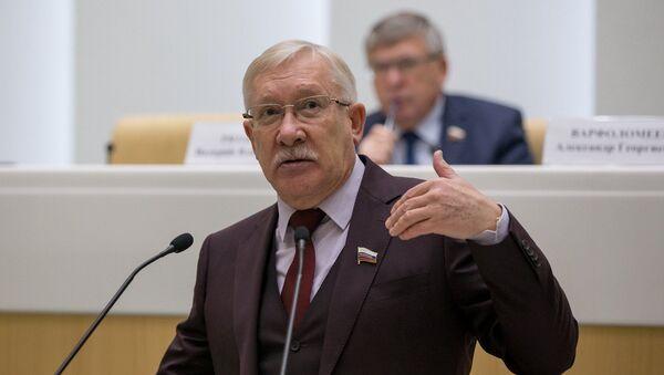 Oleg Morozow, członek Komisji ds. Zagranicznych Rady Federacji Rosji. - Sputnik Polska