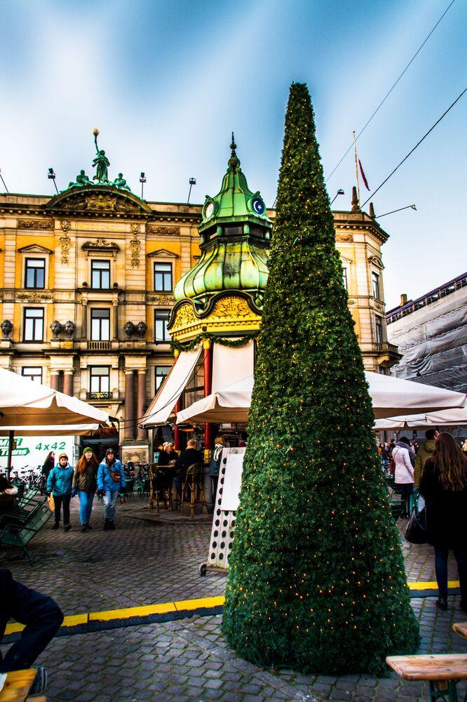 Jarmark bożonarodzeniowy w Kopenhadze.