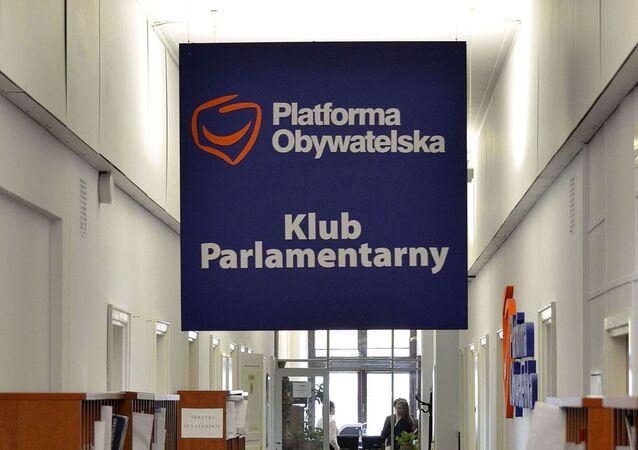 Platforma Obywatelska.
