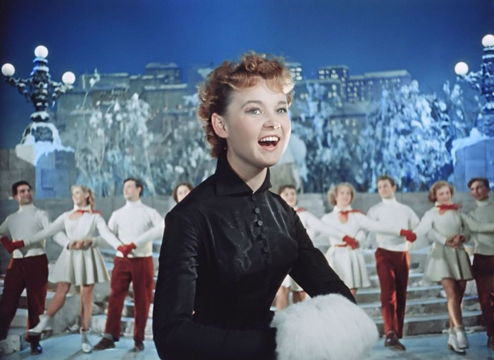"""Radziecki film """"Noc sylwestrowa"""", 1956 rok"""