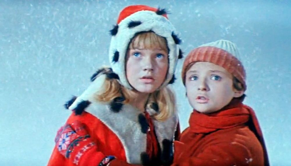 """Radziecki film """"Królowa Śniegu"""", 1966 rok"""
