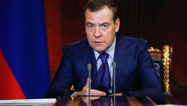 Premier Federacji Rosyjskiej Dmitrij Miedwiediew - Sputnik Polska
