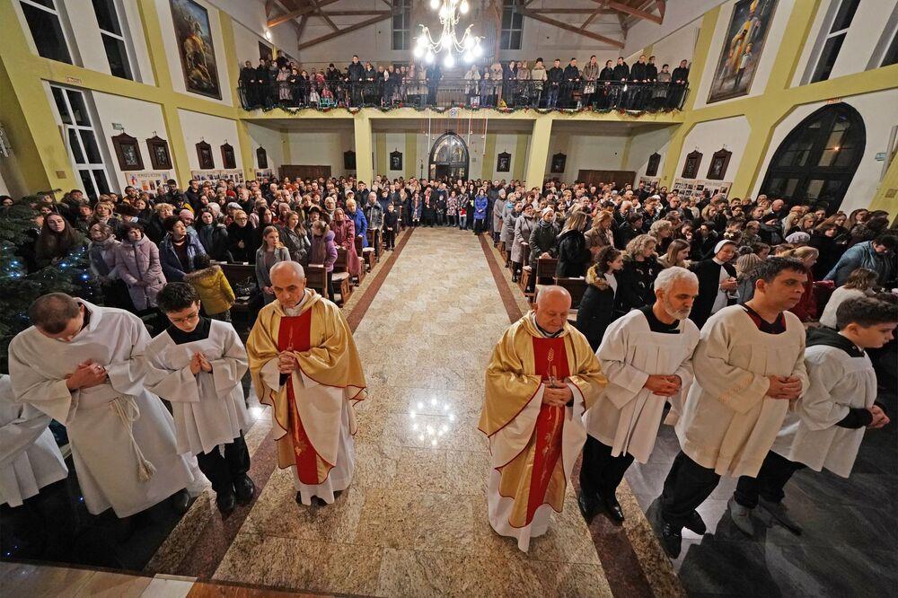 Msza święta w kościele rzymskokatolickim, Kaliningrad