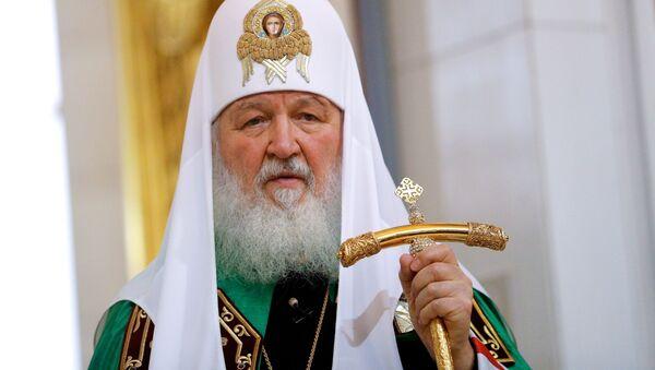 Patriarcha Moskwy i całej Rosji Cyryl - Sputnik Polska