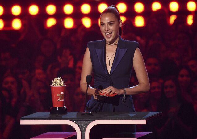 Aktorka Gal Gadot na ceremonii MTV Movie and TV Awards 2019