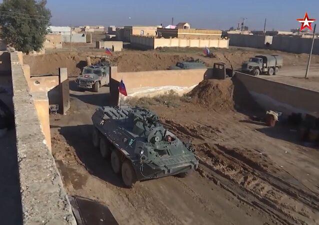 Baza USA w Syrii zajęta przez rosyjską żandarmerię wojskową