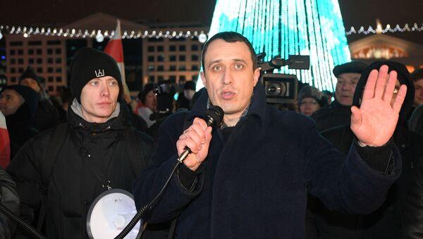 Pawieł Siewiaryniec, lider Białoruskiej Chrześcijańskiej Demokracji - Sputnik Polska