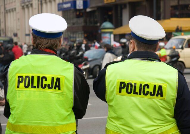 Funkcjonariusze Policji