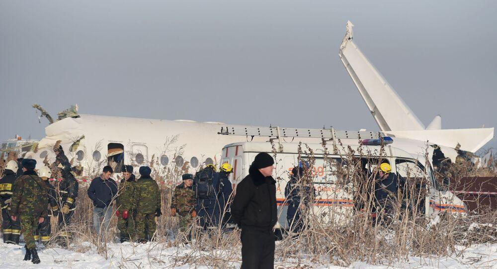 Katastrofa samolotu pasażerskiego w Kazachstanie