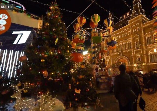 Świąteczna Moskwa
