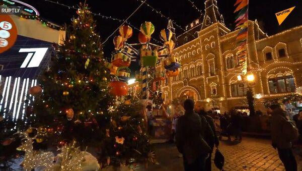 Świąteczna Moskwa - Sputnik Polska