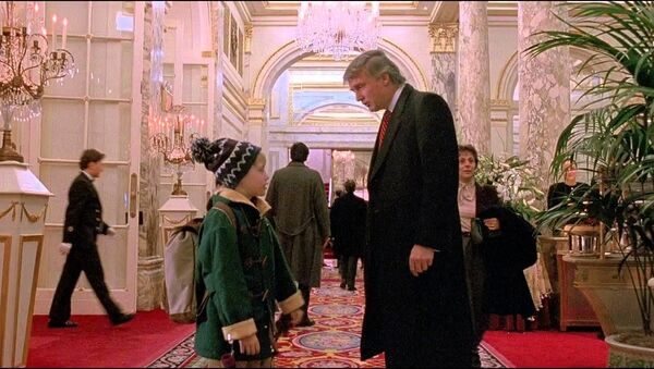 Donald Trump w filmie Kevin sam w Nowym Jorku - Sputnik Polska