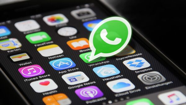 Ikona komunikatora dla smartfona WhatsApp - Sputnik Polska