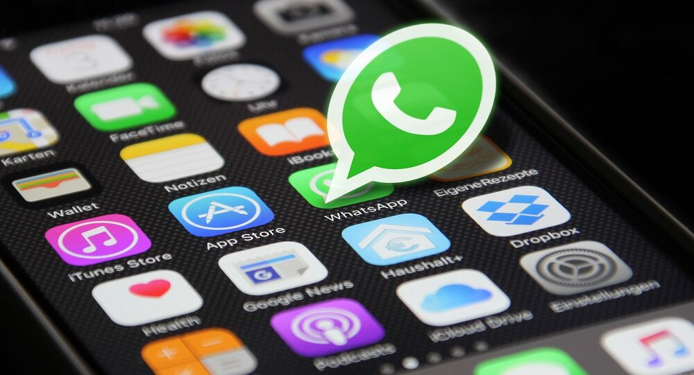 Ikona komunikatora dla smartfona WhatsApp