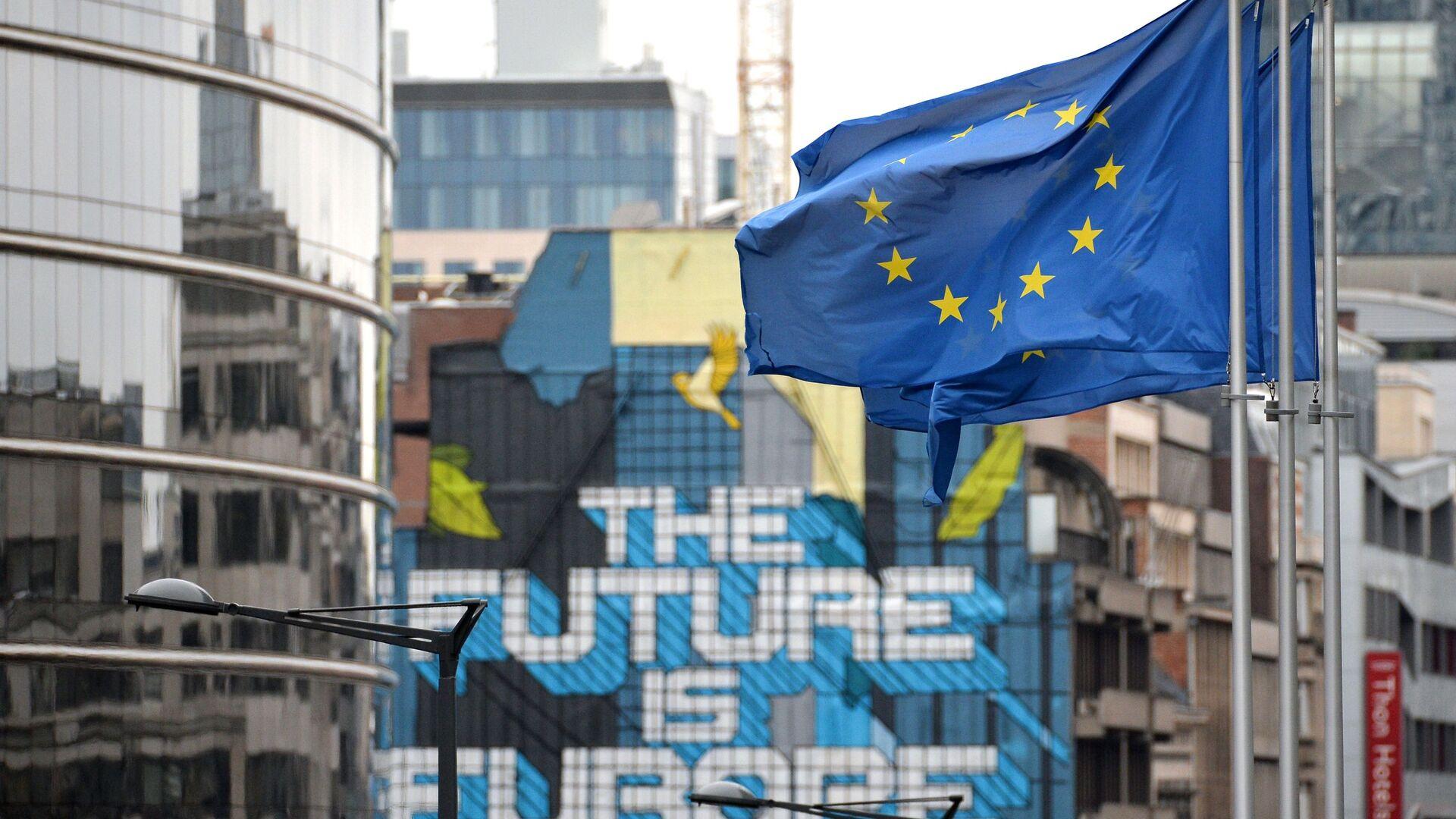 Siedziba UE w Brukseli - Sputnik Polska, 1920, 28.05.2021