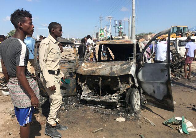 Wybuch w Somalii