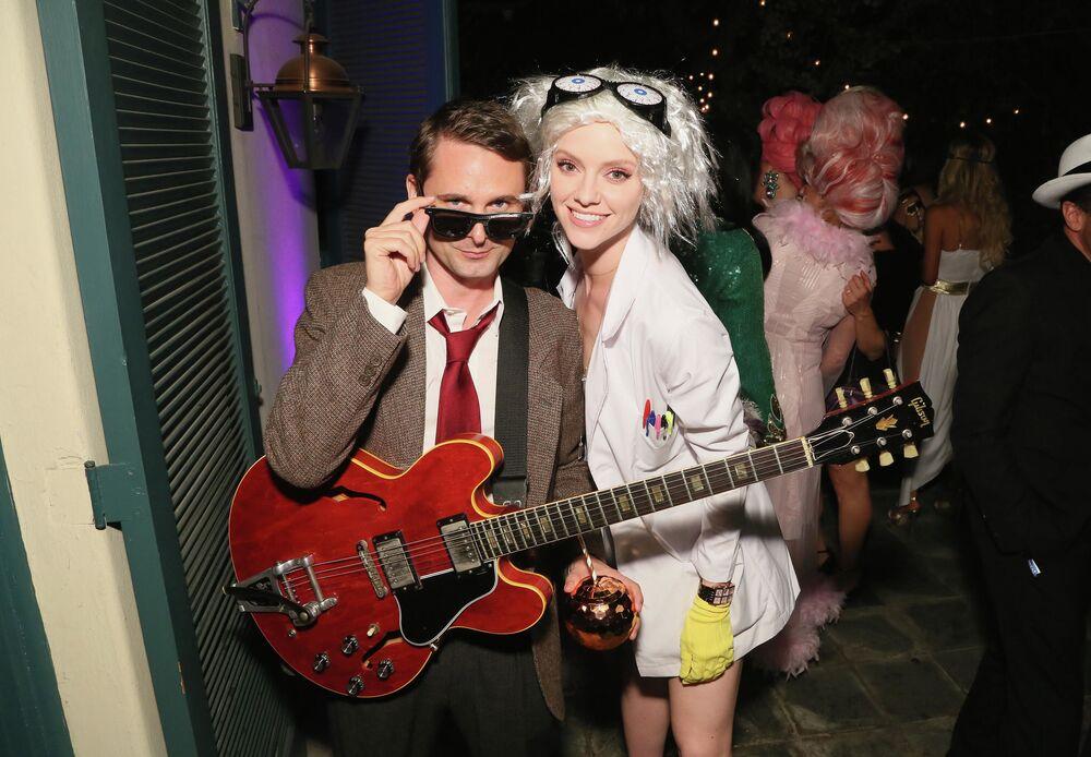 Muzyk Matt Bellamy i modelka Elle Evans