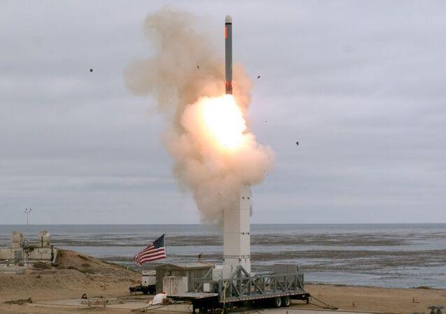 Test rakiety naziemnej w USA