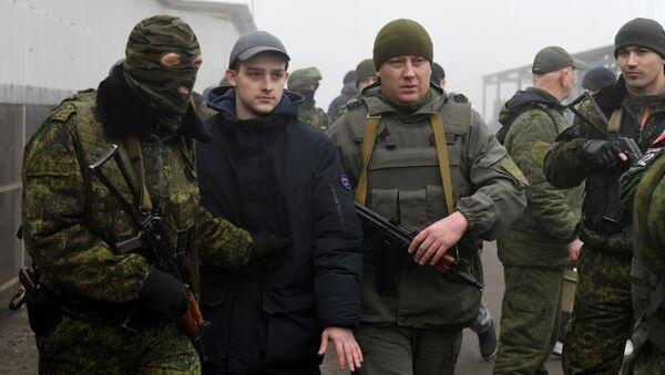 Wymiana więźniów w Donbasie. - Sputnik Polska