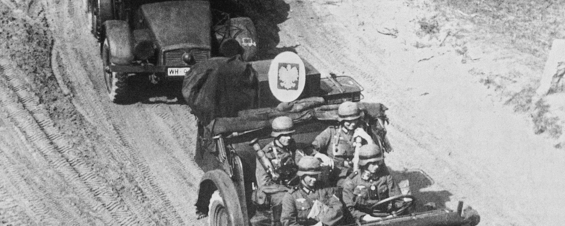 Wojska niemieckie atakują Polskę, rozpoczynając II wojnę światową w Europie - Sputnik Polska, 1920, 13.02.2021