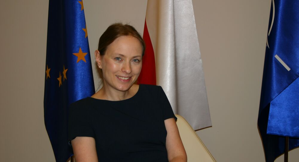 Katarzyna Pełczyńska-Nałęcz, ambasador RP w Rosji