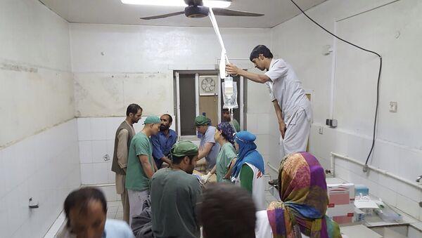 Szpital w Kunduzie po nalotach, 3 października 2015, Afganistan - Sputnik Polska