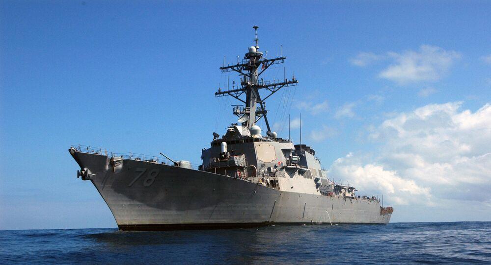 """Niszczyciel amerykańskiej marynarki wojennej """"Porter"""" (USS Porter DDG 78)"""