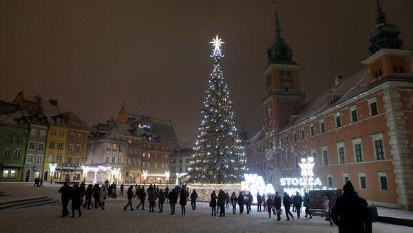 Warszawa zimą - Sputnik Polska