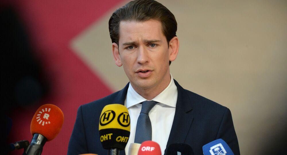 Kanclerz Austrii Sebastian Kurz