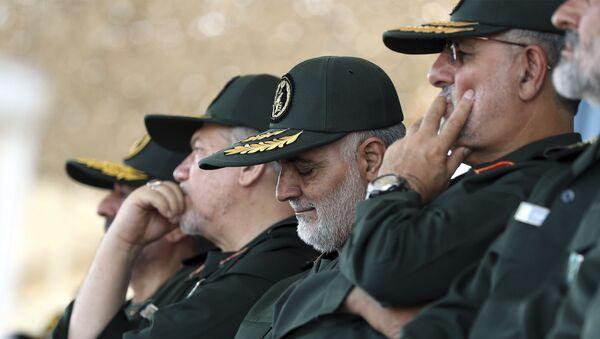 Irański generał Kasem Sulejmani, który zginął podczas amerykańskiego nalotu rakietowego na lotnisko w Bagdadzie - Sputnik Polska