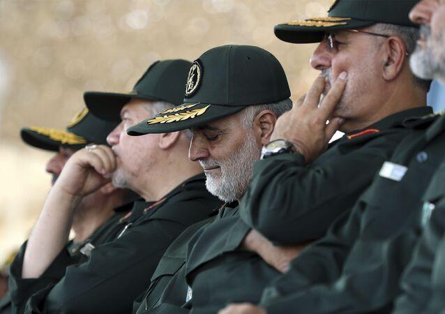 Irański generał Kasem Sulejmani, który zginął podczas amerykańskiego nalotu rakietowego na lotnisko w Bagdadzie