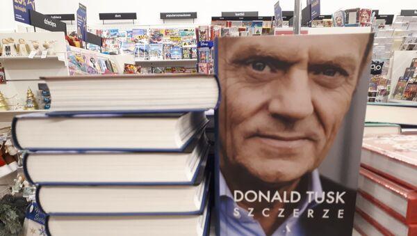 """Książka Donalda Tuska """"Szczerze"""" - Sputnik Polska"""