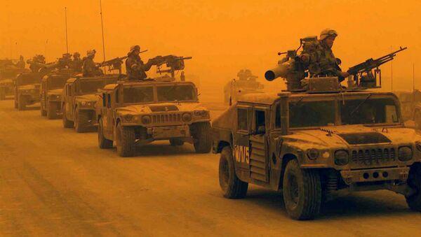 Wojsko USA w Iraku - Sputnik Polska