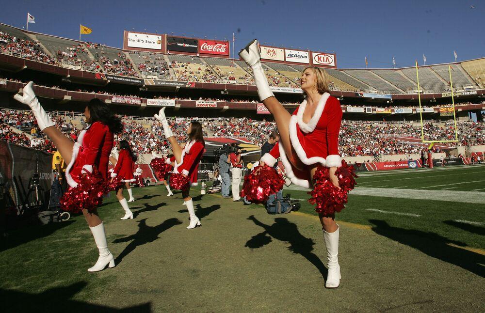 Świąteczny cheerliding