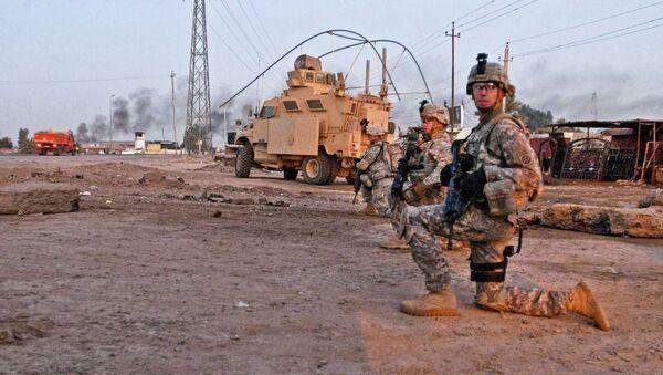 Amerykańska baza wojskowa Taji w Iraku - Sputnik Polska